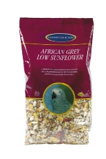 African Grey Low Sunflower Mix