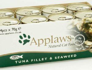 Applaws Cat Tuna & Seaweed 70g x 24