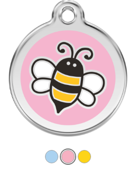Bumble Bee Enamel Pet Tag Medium