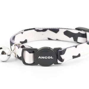 Camouflage Cat Collar Black and White