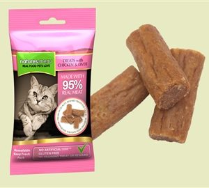 Cat Treats Chicken & Liver 60g