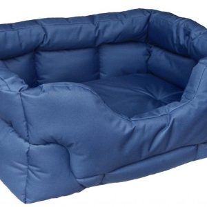 Rectangular Waterproof Bed Medium Green