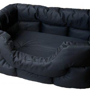 Rectangular Waterproof Bed Medium Grey