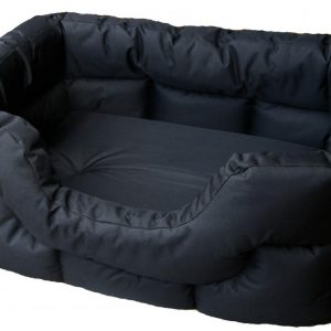 Rectangular Waterproof Bed Jumbo Burgungy