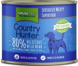 Country Hunter Delicious Wild Boar Can 600g x6