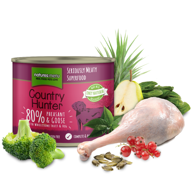 Country Hunter Pheasant & Goose Can 600g x6