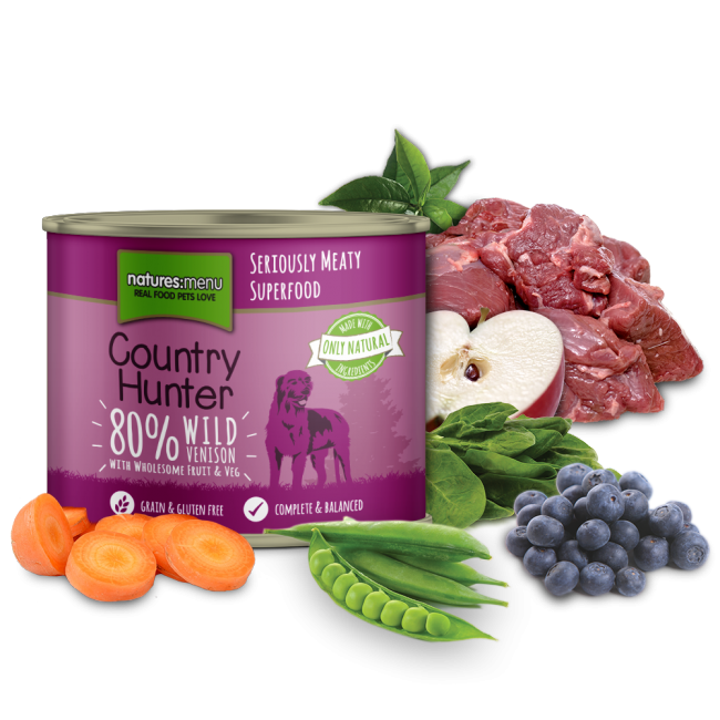 Country Hunter Wild Venison Can 600g