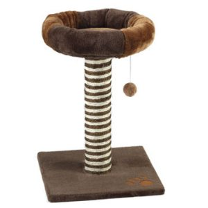 Cushy Cat Scratcher Brown 50cm