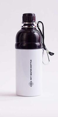 Dog Water Bottle White 500ml