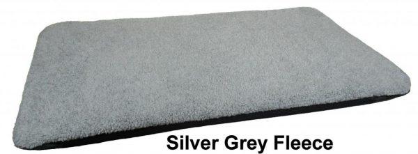 Duvet Silver Grey Fleece Small
