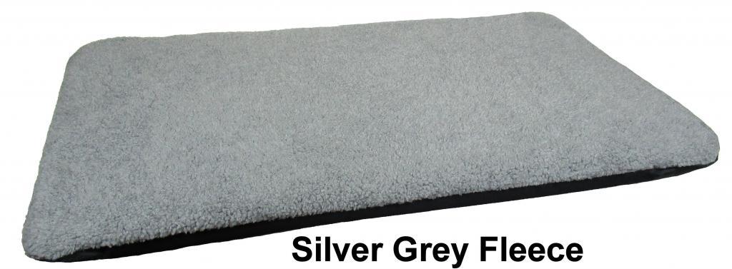 Duvet Silver Grey Fleece Large