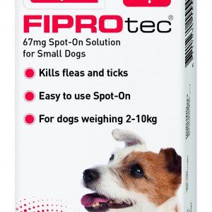 Fiprotec Flea treatment Small Dogs
