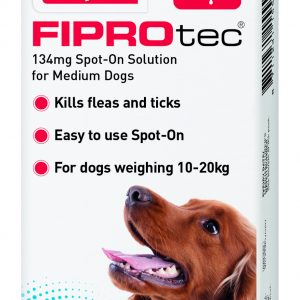 Fiprotec Flea treatment Medium Dogs