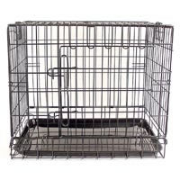 Fold Flat Dog Crate Medium