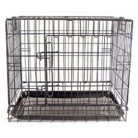 Fold Flat Dog Crate Large