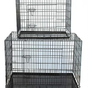 Fold Flat Dog Crate Large