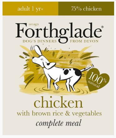 Forthglade Chicken, Brown Rice & Veg 395g