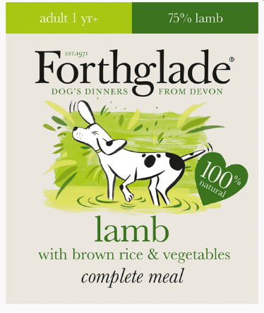 Forthglade Lamb, Brown Rice & Veg 395g