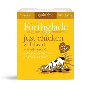 Forthglade Natural Menu Chicken & Heart 395g