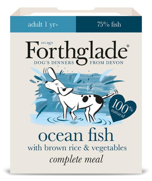 Forthglade Ocean Fish, Brown Rice & Veg 395g