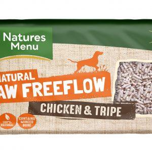 Frozen Free Flow Chick & Tripe Mince 2kg
