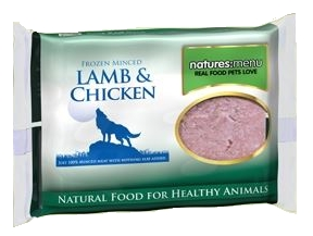 Frozen Minced Lamb & Chicken 400g
