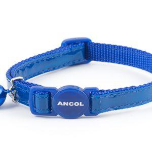 Gloss Cat Collar Blue