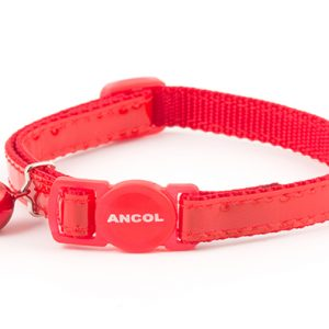 Gloss Cat Collar Red