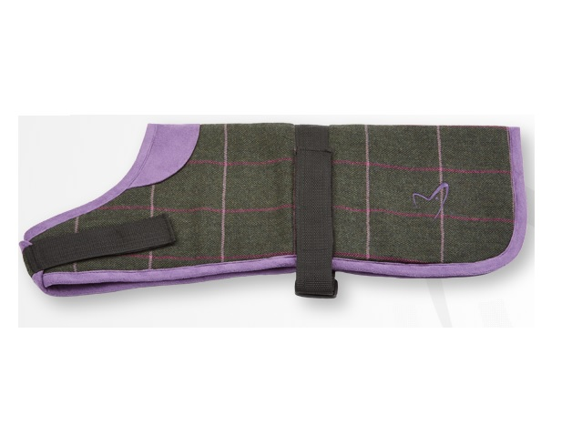 "Kensington Tweed Green Check Coat 18"""