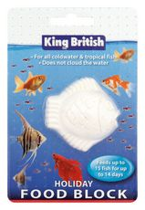 King British Holiday Fish Feed
