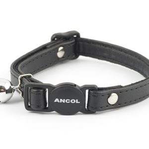Cat Collar with Jewels Black