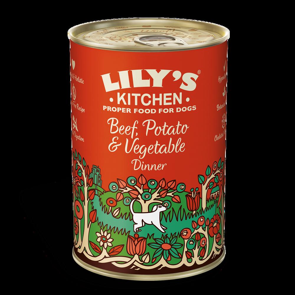 Lily's Kitchen Beef, potato & Veg Dinner 400g