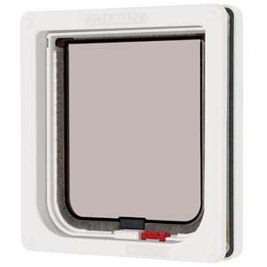 Lockable Cat Flap White