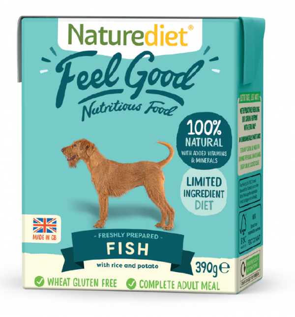 Naturediet Fish 390g