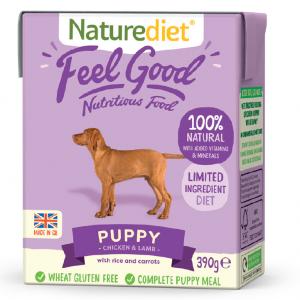Naturediet Puppy/Junior 390g
