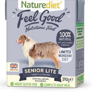 Naturediet Senior/Lite 390g