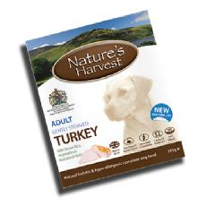 Nature's Harvest Turkey 395g