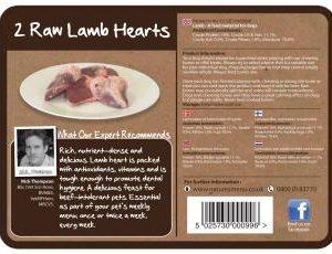 Raw Chews Lamb Hearts