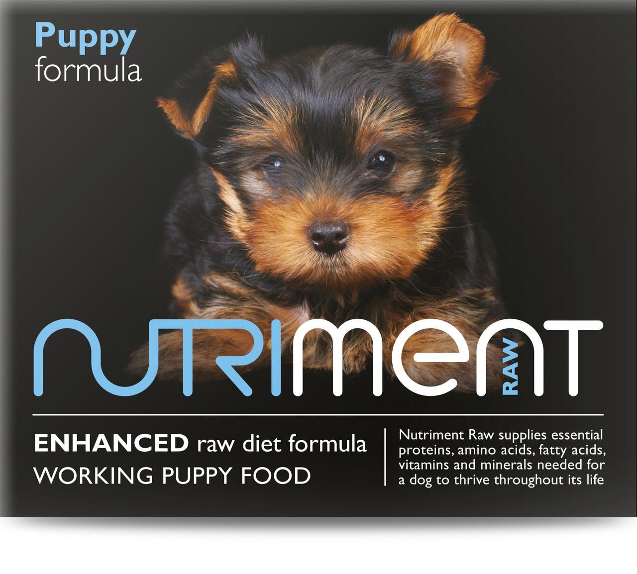 Nutriment Puppy Formula Raw Dog 500g