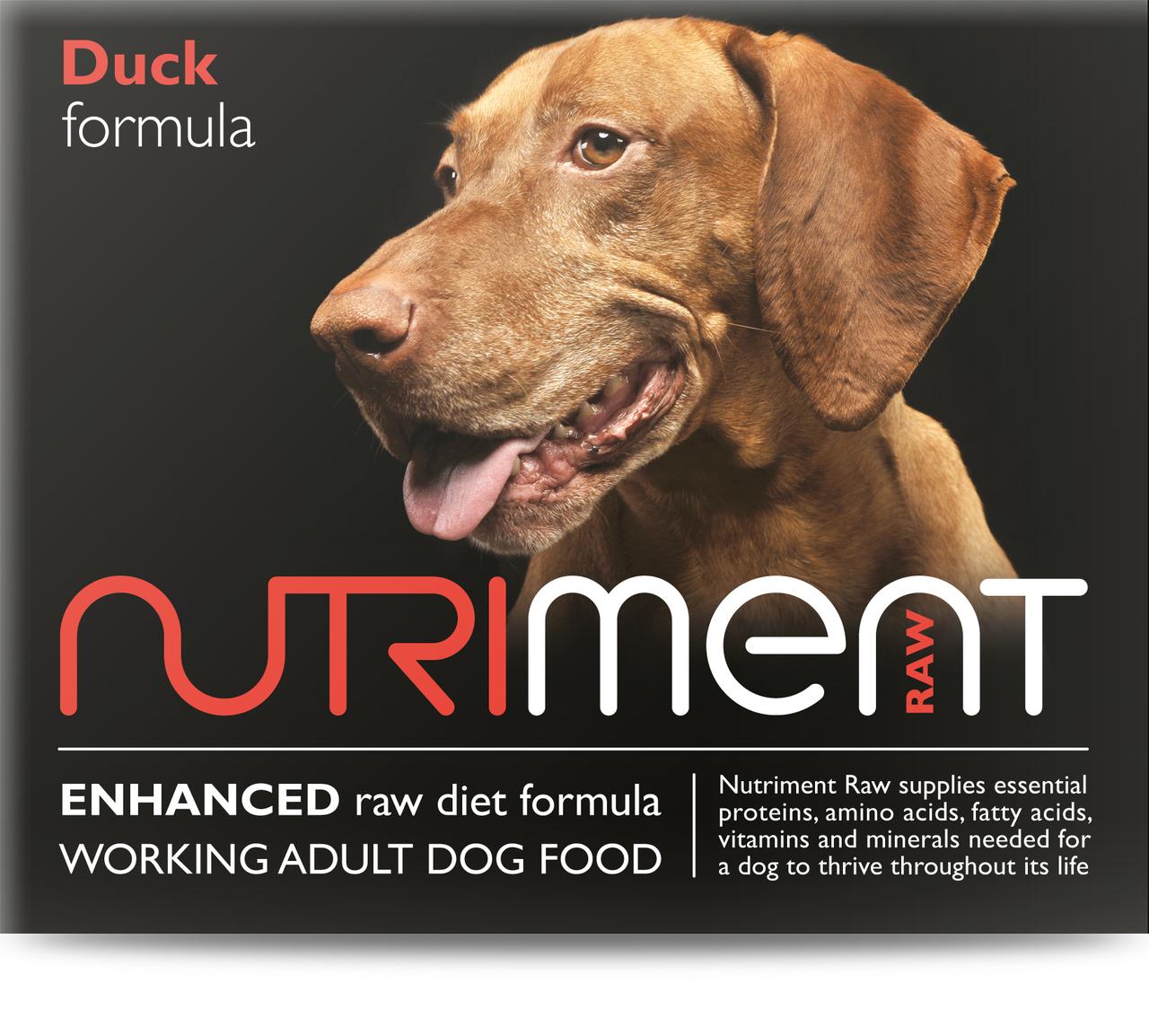 Nutriment Duck Formula Raw Dog 500g