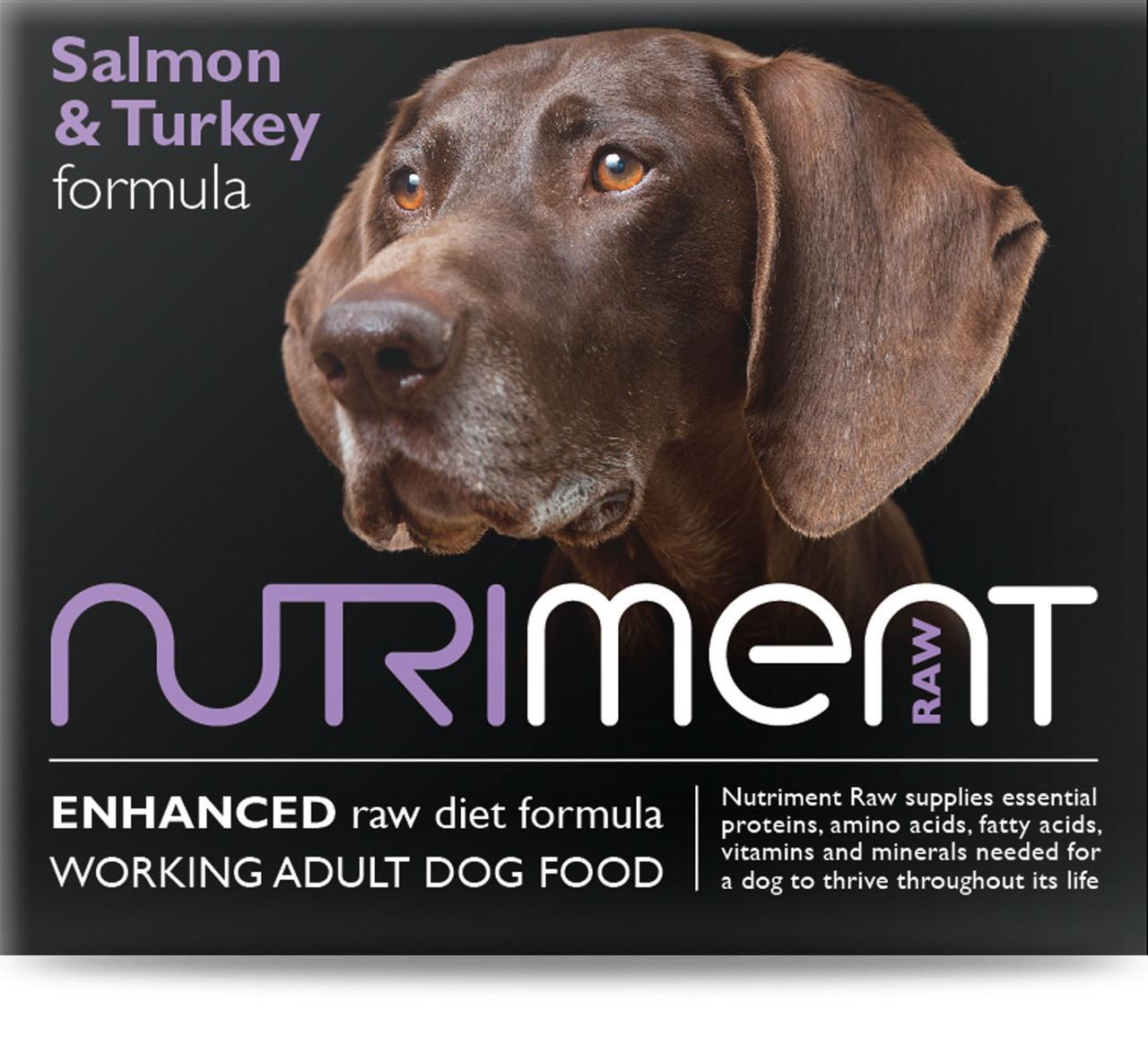 Nutriment Salmon & Turkey Formula Raw Dog 500g
