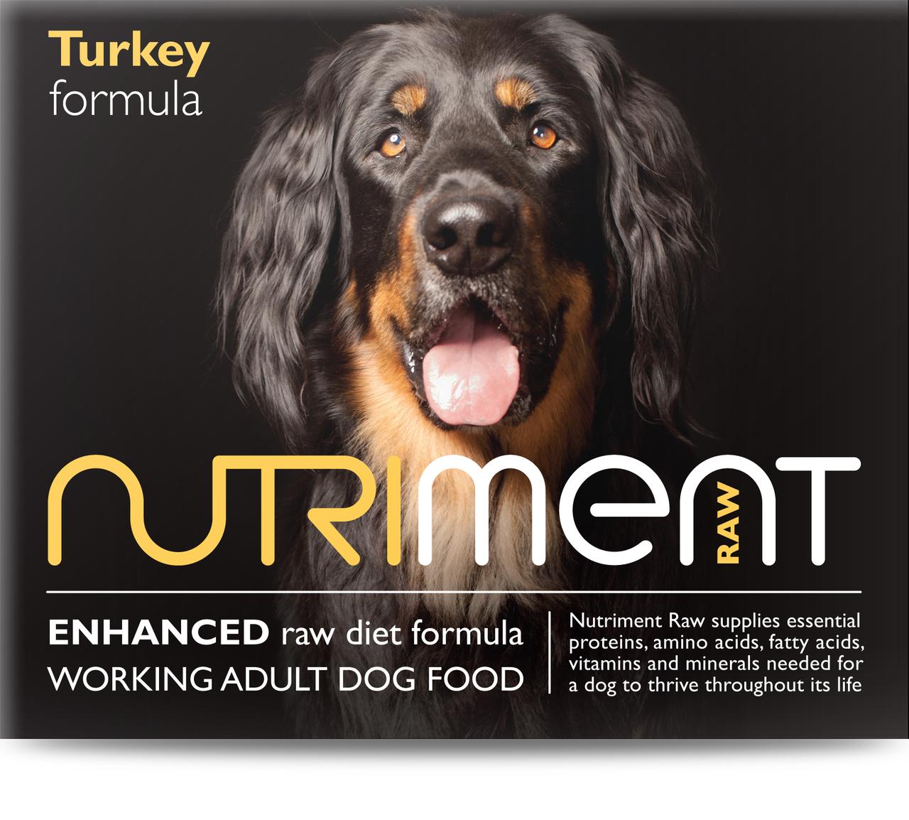 Nutriment Turkey Formula Raw Dog 500g