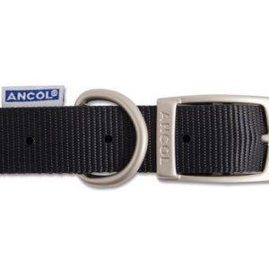 Nylon Collar Black 45cm
