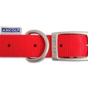 Nylon Collar Red 35cm