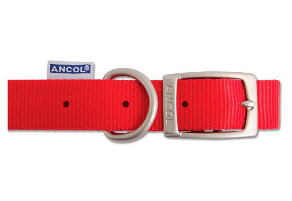 Nylon Collar Red 40cm