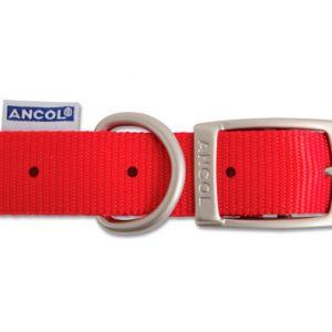 Nylon Collar Red 55cm