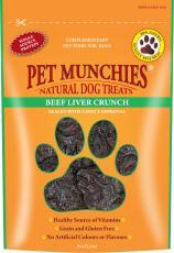 Pet Munchies Beef Liver Crunch 90g