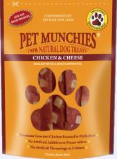 Pet Munchies Chicken and Cheese 100g