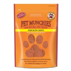 Pet Munchies Chicken Chips X8