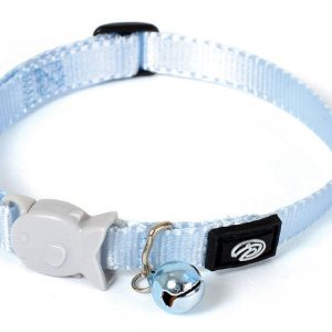 Plain Light Blue Kitten Collar